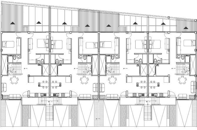 Vivienda angelicaguio for Hoteles en planta