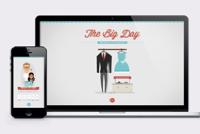 wedding website daniel averso art director designer artist atlanta ga