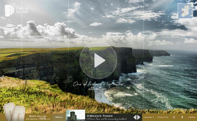 Cliffs of moher office du tourisme irlandais sdra - Office du tourisme irlandaise a paris ...